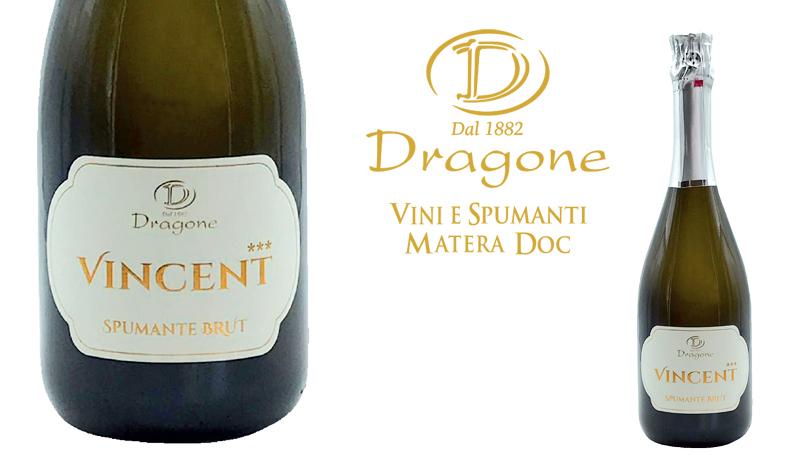 """""""Vincent"""" nuovo spumante brut, delicato e brillante"""